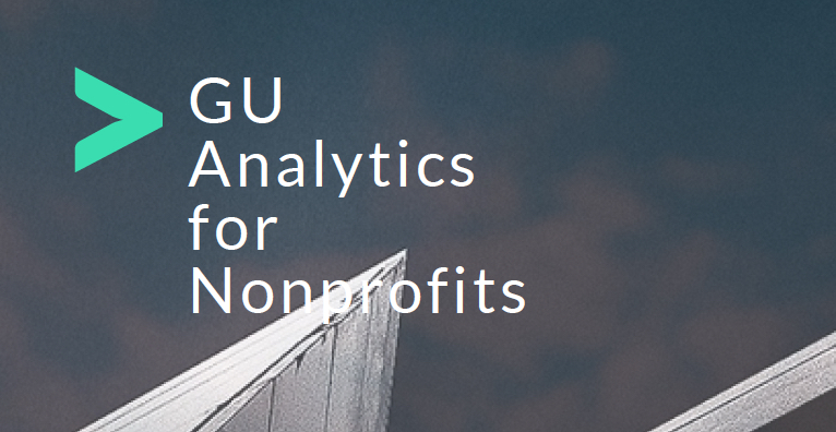 GU Analytics for Nonprofits2